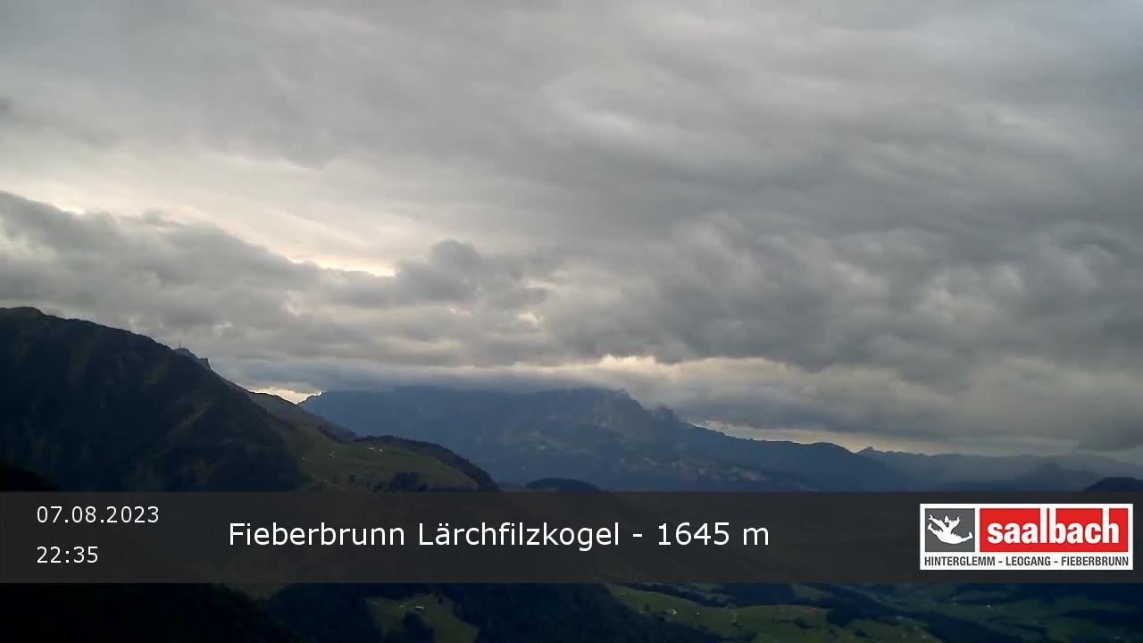 Livecam Fieberbrunn - Lärchfilzkogel Bergstation