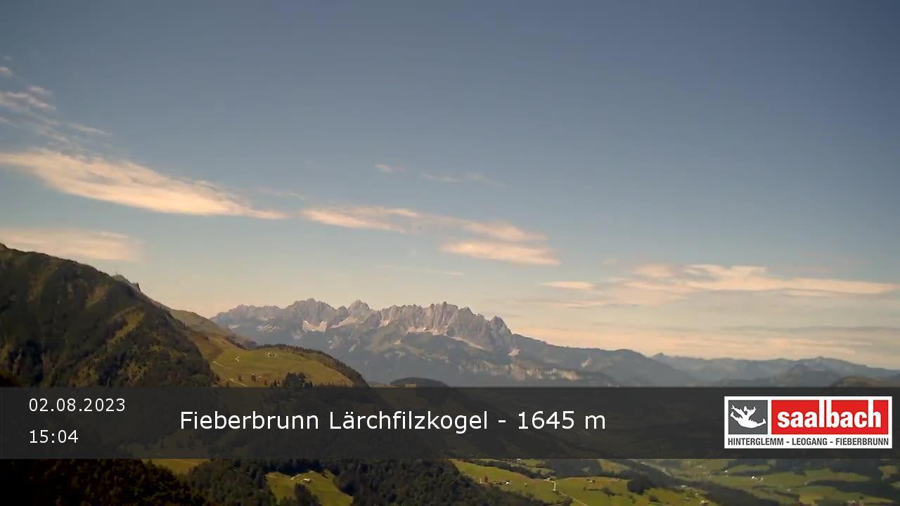 Livecam Fieberbrunn - Kogel Berg