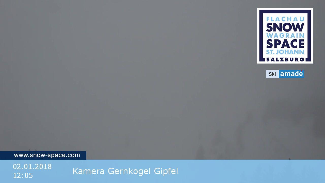 St. Johann Alpendorf webcam - Gernkogel Gipfel