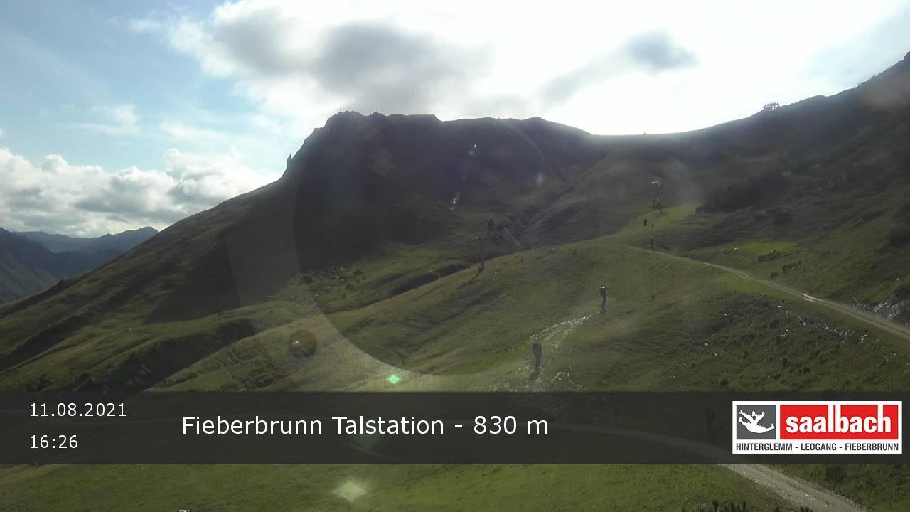 Livecam Fieberbrunn - Streuboeden Talstation